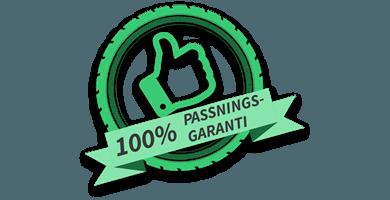 100% Passningsgaranti på dina vinterdäck