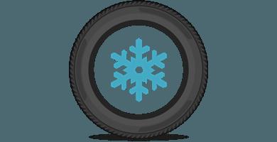 Europeiska friktionsdäck för landsvägskörning och mildare vinterklimat