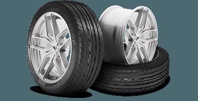 däck, fälg och kompletta hjul