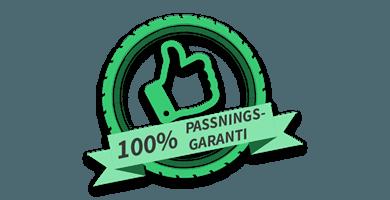 Passningsgaranti dubbdäck