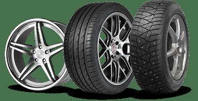 köp Däck, fälg och komplett hjul billigt online