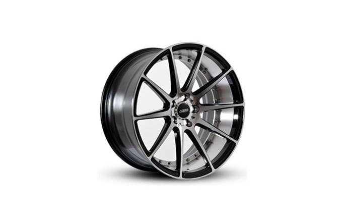 ABS Wheels ABS368 Black polished