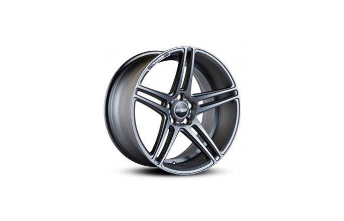 ABS Wheels ABS370 Matt gunmetal