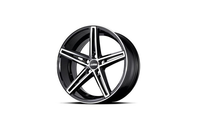ABS Wheels ABS382 Black polished