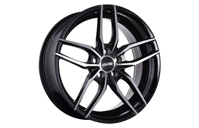 ABS Wheels ABS352 Black polished