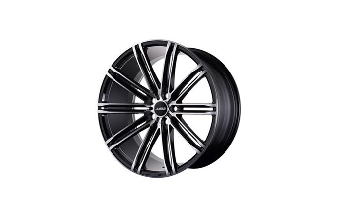 ABS Wheels ABS344 Black polished