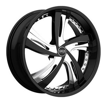 Status Wheels Fantasy Black, chrome