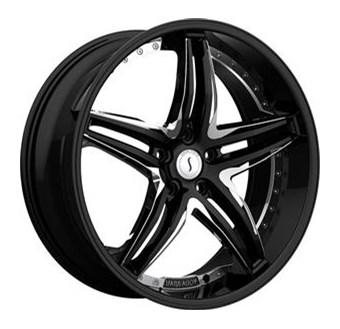 Status Wheels Haze Black chr inserts