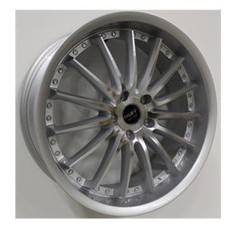 Ruff Racing R981 Silver machined