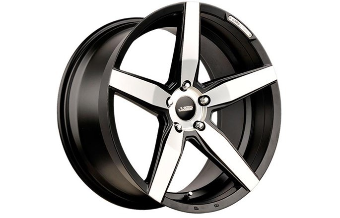 ABS Wheels ABS374 Black polished