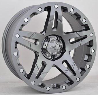 Tuff A/T D66 Flatgunmetal