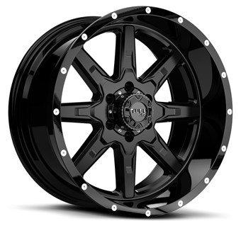 Tuff A/T T15 Black, milled rivets