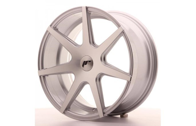 ABS Wheels JR20 Machined Face Silver