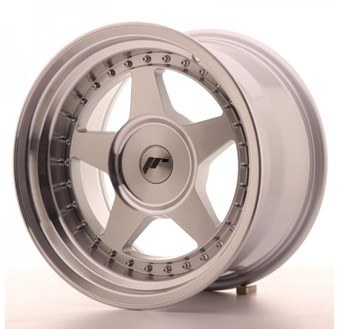 Japan Racing JR6 Machined Face Silver
