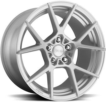 Rotiform KPS R139 Silver / Machined