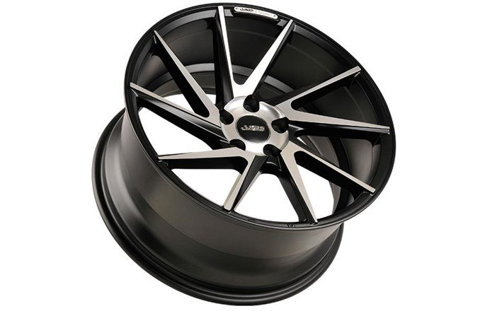 ABS Wheels ABS388 Left Black / Machined