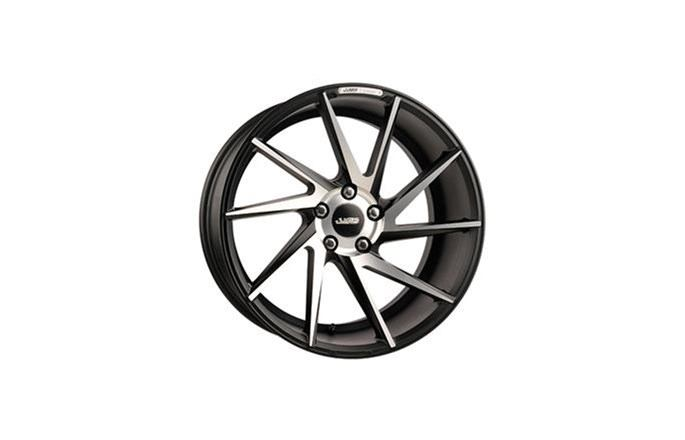 ABS Wheels ABS388 Right Black / Machined