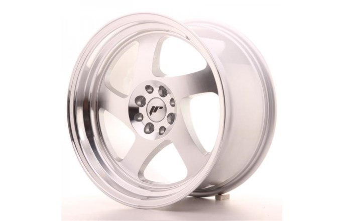 Japan Racing JR15 Machined Face Silver
