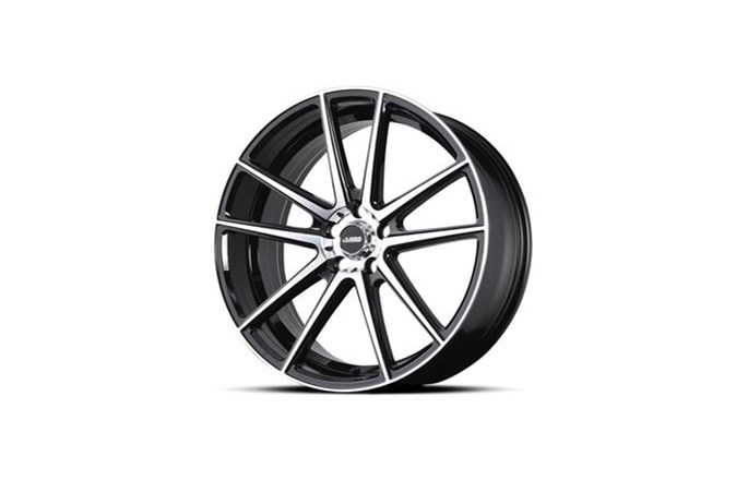 ABS Wheels ABS364 Black / Polished