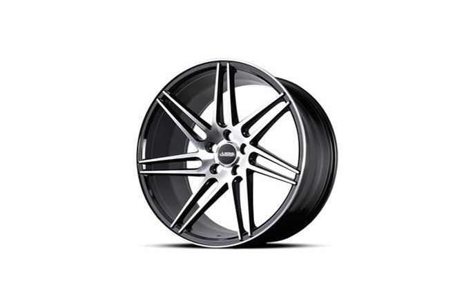 ABS Wheels ABS377 Black / Polished