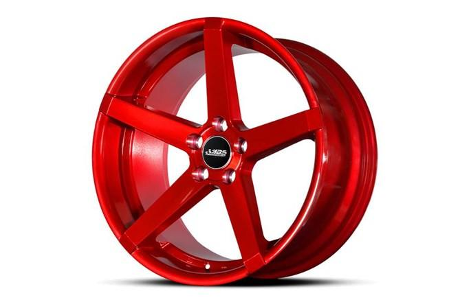 ABS Wheels ABS355 CANDY RED