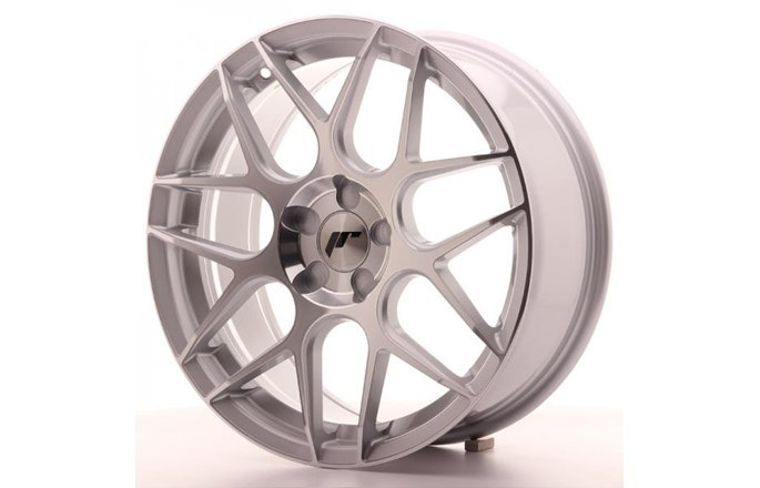 ABS Wheels JR18 Machined Face Silver