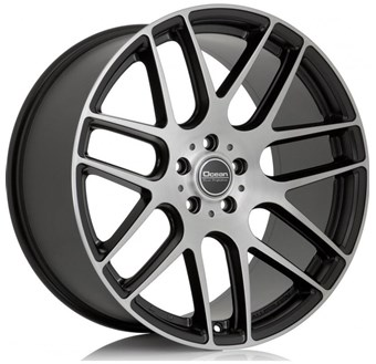 Ocean Wheels Caribien Matt Black Polish