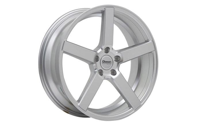 Ocean Wheels Cruise Bright Silver