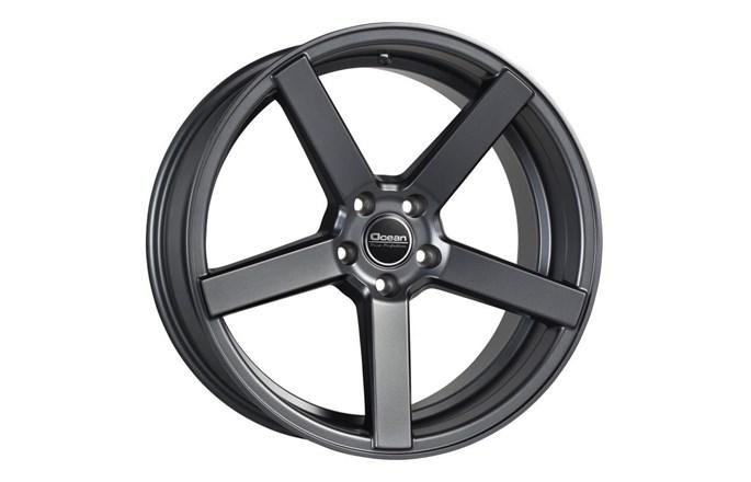 Ocean Wheels Cruise Concave Antracit Mat
