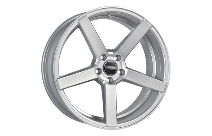Ocean Wheels Cruise Concave Bright Silver