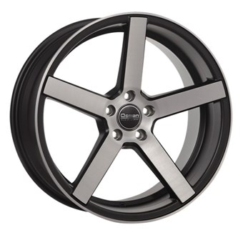 Ocean Wheels Cruise Concave Matt Black Polish