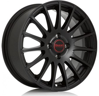 Ocean Wheels Fashion Matt Black