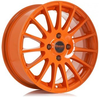Ocean Wheels Fashion Orange