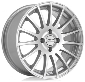 Ocean Wheels Fashion Silver