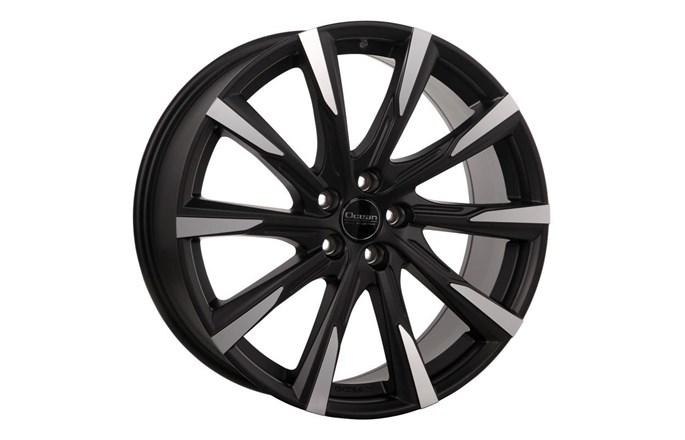 Ocean Wheels Mistral II Black Matt Polish