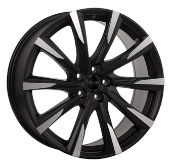 Ocean Wheels Mistral II Black Matt Polish