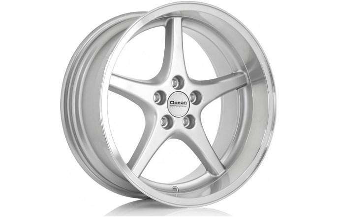 Ocean Wheels MK18 Silver Polish Lip