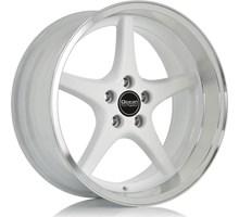 Ocean Wheels MK18 White Polish Lip