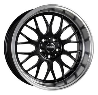Ocean Wheels Super DTM Black Polish Lip