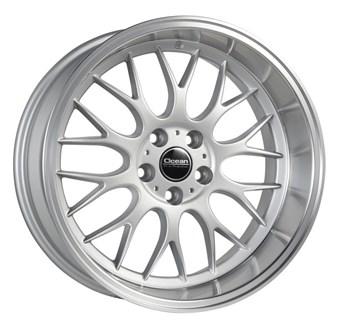 Ocean Wheels Super DTM Silver Polished Lip