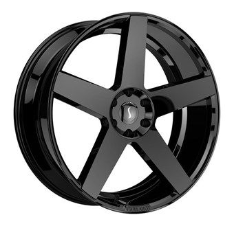 Status Wheels EMPIRE GLOSS BLACK