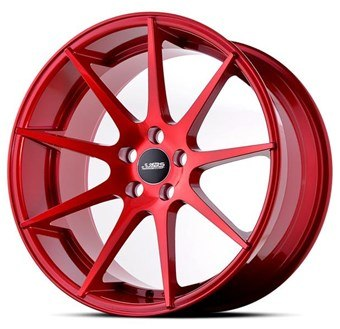 ABS Wheels ABS356 Candy Red Demo!!