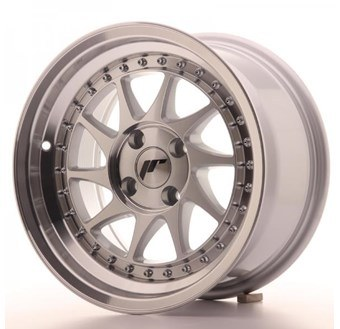 Japan Racing JR26 Machined Face Silver