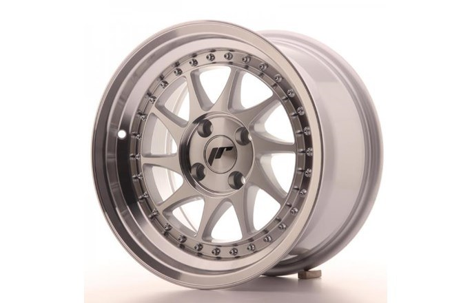 ABS Wheels JR26 Silver Machined Face