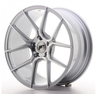 Japan Racing JR30 Machined Face Silver