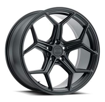 XO Luxury Wheels HELSINKI MATTE BLACK