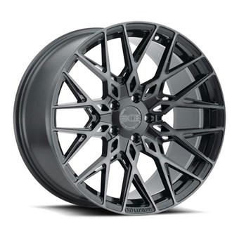 XO Luxury Wheels PHOENIX GUNMETAL W/BRUSHED GUNMETAL FACE