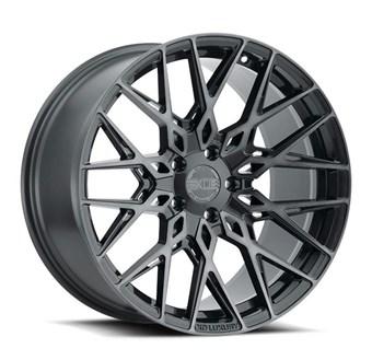 XO Luxury Wheels PHOENIX GUNMETAL W/BRUSHED GUNMETAL FACE