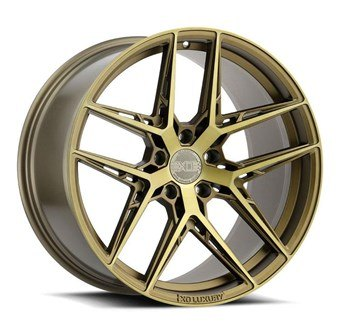 XO Luxury Wheels CAIRO BRONZE W/BRUSHED BRONZE FACE