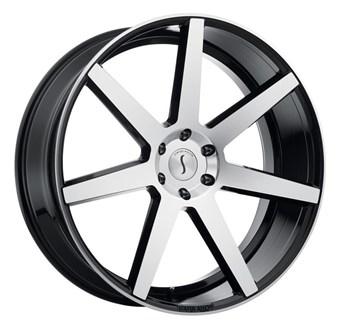 Status Wheels JOURNEY GLOSS BLACK W/ MACHINED FACE
